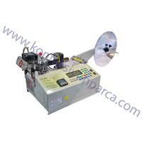 Otomatik Sıcak Soğuk Çizgi Kontrol Sensörlü Etiket Kesme Makinesi