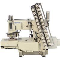 DUKEPU BH-4412 P-UTC 12 İğne 1/4 İplik Kesme Lastik Makinası